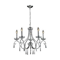 Nulco by ELK Lighting Sherbourne 5 Light Chandelier in Chrome 82052/5 photo thumbnail