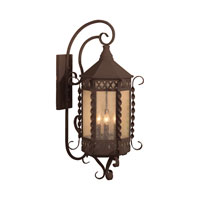 ELK Lighting Malibu 4 Light Outdoor Wall Sconce in Iron Rust 8262-IR photo thumbnail