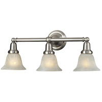 Nulco by ELK Lighting Vintage Bath 3 Light Vanity in Satin Nickel 84002/3