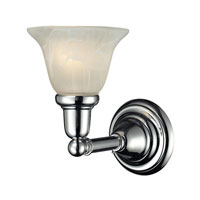 Vintage Bath 1 Light 6 inch Chrome Vanity Wall Light