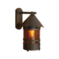 ELK Lighting Durango 1 Light Outdoor Wall Sconce in Brushed Iron 8402-BI