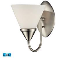 Nulco by ELK Lighting Alpine 1 Light Vanity in Satin Nickel 84055/1-LED