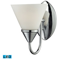 Alpine LED 6 inch Chrome Vanity Wall Light