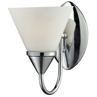 Alpine 1 Light 6 inch Chrome Vanity Wall Light