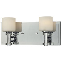 Elis 2 Light 11 inch Chrome Vanity Wall Light
