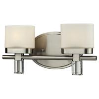 ELK 84091/2 Tassoni 2 Light 12 inch Satin Nickel Vanity Wall Light