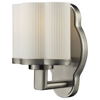 Harbridge 1 Light 5 inch Satin Nickel Vanity Wall Light