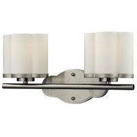 Harbridge 2 Light 15 inch Satin Nickel Vanity Wall Light