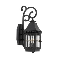 Taos 2 Light 19 inch Espresso Outdoor Sconce