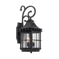 Taos 2 Light 21 inch Espresso Outdoor Sconce