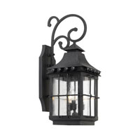Taos 3 Light 26 inch Espresso Outdoor Sconce
