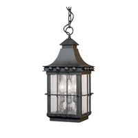 ELK Lighting Taos 3 Light Outdoor Pendant in Espresso 8454-E