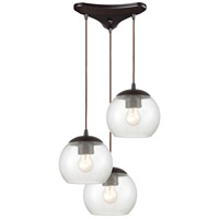 Oil Rubbed Bronze Glass Kendal Pendants