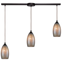 ELK 85256/3L Illuminessence 3 Light 36 inch Oil Rubbed Bronze Pendant Ceiling Light in Linear with Recessed Adapter