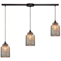 ELK 85257/3L Illuminessence 3 Light 36 inch Oil Rubbed Bronze Pendant Ceiling Light in Linear with Recessed Adapter