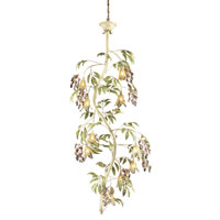 ELK Lighting Huarco 10 Light Chandelier in Seashell 86055 photo thumbnail