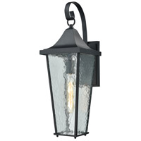 Vinton 1 Light 21 inch Matte Black Outdoor Wall Sconce