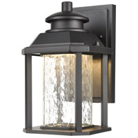 ELK 87120/LED Irvine LED 10 inch Matte Black Outdoor Sconce