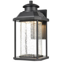 ELK 87122/LED Irvine LED 16 inch Matte Black Outdoor Sconce