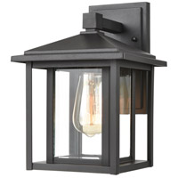 ELK 87130/1 Solitude 1 Light 11 inch Matte Black Outdoor Sconce