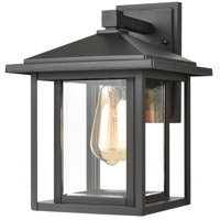 ELK 87131/1 Solitude 1 Light 13 inch Matte Black Outdoor Sconce