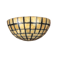 ELK Lighting Stone Mosaic 2 Light Sconce in Dark Antique Brass 8819/2