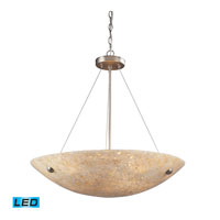 ELK Lighting Stonybrook 6 Light Pendant in Satin Nickel 8887/6-LED