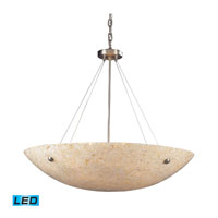 ELK Lighting Stonybrook 8 Light Pendant in Satin Nickel 8888/8-LED
