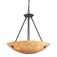 ELK Lighting Stonybrook 5 Light Pendant in Dark Rust 8896/5