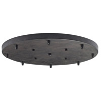 ELK Lighting Illuminare Accessories Canopy in Deep Rust 8R-DR