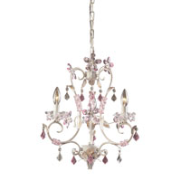 ELK Lighting Julia 3 Light Chandelier in Antique White 9100/3