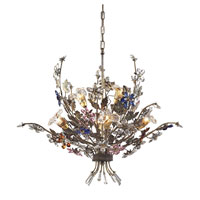 Brillare 6 Light 32 inch Bronzed Rust Chandelier Ceiling Light