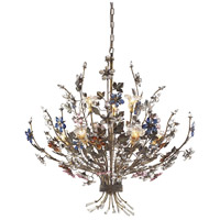 ELK 9108/6+3 Brillare 9 Light 36 inch Bronzed Rust Chandelier Ceiling Light photo thumbnail