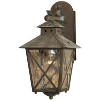 Nantucket 1 Light 17 inch Charcoal Outdoor Wall Sconce