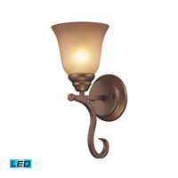 ELK Lighting Lawrenceville 1 Light Wall Sconce in Mocha 9320/1-LED