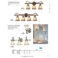 ELK 9322/3 Lawrenceville 3 Light 24 inch Mocha Vanity Light Wall Light in Incandescent alternative photo thumbnail