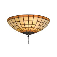 ELK Lighting Diamond 2 Light Flush Mount in Tiffany Bronze 990-A