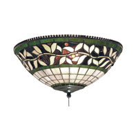 ELK Lighting English Ivy 2 Light Flush Mount in Tiffany Bronze 990-G