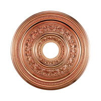 ELK M1002CO ENGLISH STUDY Copper Medallion photo thumbnail