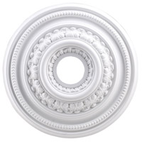 ELK Lighting English Study Medallion in White M1002WH