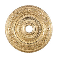 ELK Lighting Floral Wreath Medallion in Gold M1006GD