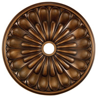 Melon Reed Antique Bronze Medallion