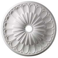 ELK Lighting Melon Reed Medallion in White M1009WH