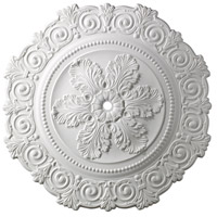 ELK Lighting Marietta Medallion in White M1011WH
