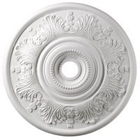 ELK Lighting Laureldale Medallion in White M1014WH