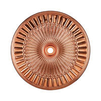 ELK Lighting Hillspire Medallion in Copper M1017CO