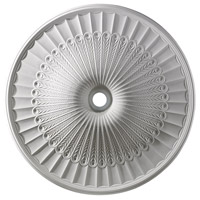 ELK Lighting Hillspire Medallion in White M1017WH