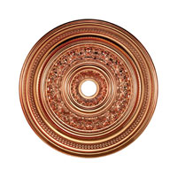 ELK Lighting English Study Medallion in Copper M1022CO