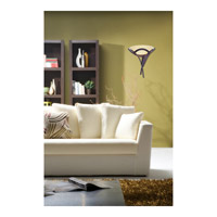 ELK 001-TS Aurora 1 Light 16 inch Tarnished Silver Sconce Wall Light in White Faux Alabaster Glass, Incandescent alternative photo thumbnail