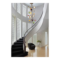 ELK Lighting Bela Iguazu 19 Light Chandelier in Silver Leaf 1697/19 alternative photo thumbnail